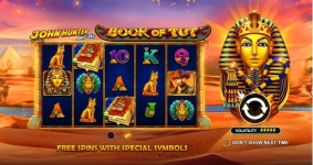 John Hunter and the Book of Tut van Pragmatic Play spelen
